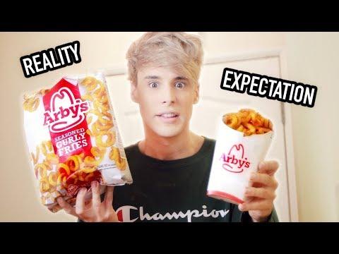 i ate FROZEN FOODS vs. the restaurant version