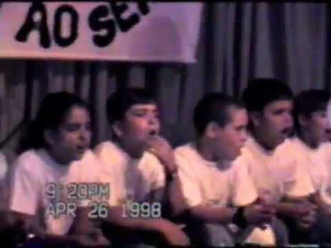 MUSICAL INFANTIL NA IBAMITA - ITALVA/RJ EM 26/04/1998 - 1ª PARTE