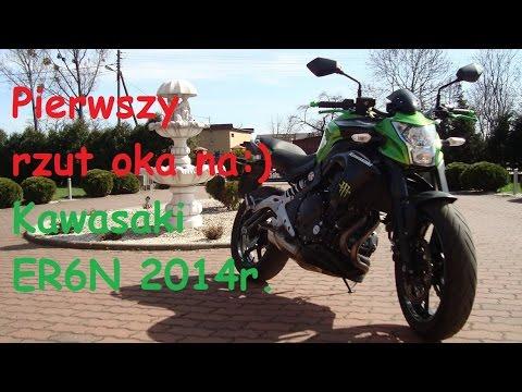 KvbaMotoVlog Spontan# 1- Kawasaki ER6 N 2014 rok: Pierwszy rzut okiem.
