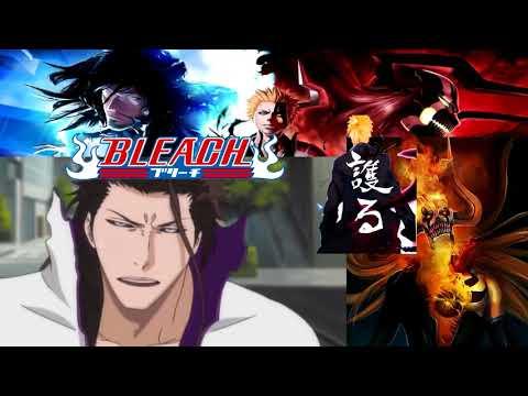Gin vs  Aizen   Full Fight English Dub