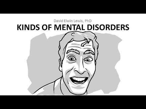 16.2 Kinds of Mental Disorders