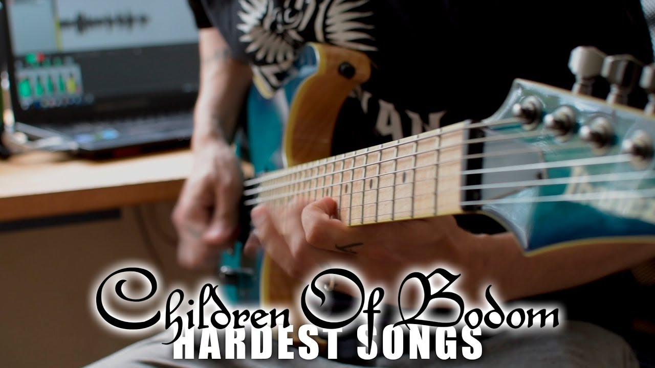 Children Of Bodom HARDEST Songs On Rhythm Guitar