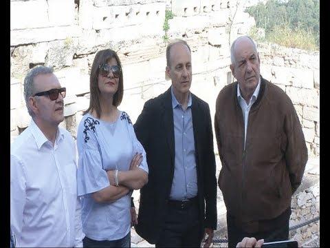 Επίσκεψη ΥΦΥΠΕΞ στην Ακρόπολη στο πλαίσιο της προετοιμασίας του προγράμματος «Νόστος»