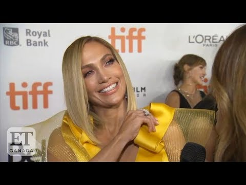 Jennifer Lopez Reacts To Watching Herself Pole Dance In 'Hustlers'
