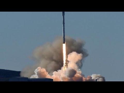 Επιτυχής εκτόξευση πυραύλου της SpaceX