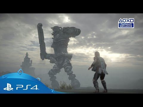 Shadow of the Colossus   E3 2017 Reveal Trailer   PS4