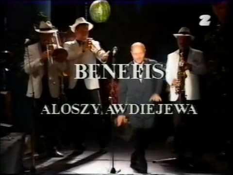 Alosza Awdiejew - Benefis w Teatrze STU [01] Kim ja jestem?!