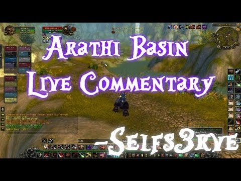 Arathi Basin - NEW TGN COMMENTARY HERE!: http://www.youtube.com/watch?v=qBqmo9L0cKA&feature=channel_video_title Wow Cataclysm Battlegrounds: Arathi Basin Live Commentary [4...