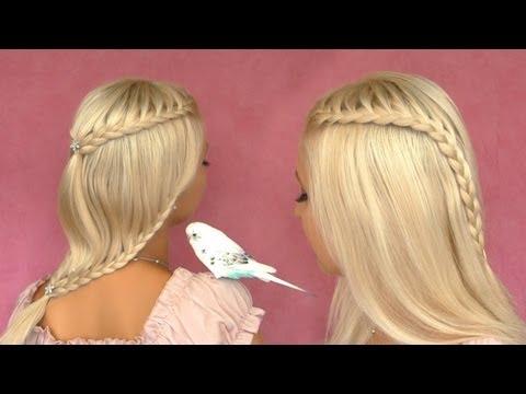 French lace braid hair tutorial Cute braided hairstyles for short, medium, long hair 2013