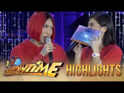 It's Showtime Miss Q & A: Anne reacts to what Vice wants on Valentine's Day