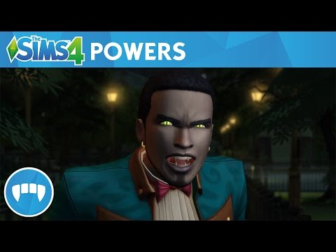 Gameplay trailer The Sims 4 Vampieren