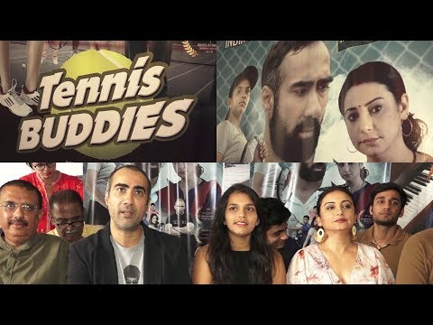 Divya Dutta & Ranveer Shory Talk About Film Tennis Buddies
