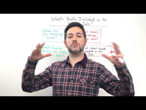 What's Really Included in An SEO's Job - Whiteboard Friday