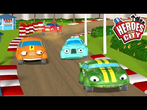 City of Heroes - Full Episode in English - The Racing Day Heroes of the City is a television cartoon about rescue vehicles in a small town where everybody gets to be a hero! ...