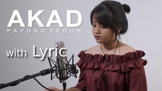 Akad - Payung Teduh Covered by Hanin Dhiya ( Video Lyric )