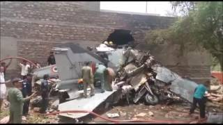 MiG-27 crashes in Jodhpur, India