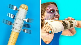 Video 15 DIY Zombie Apocalypse Survival Hacks MP3, 3GP, MP4, WEBM, AVI, FLV Mei 2019
