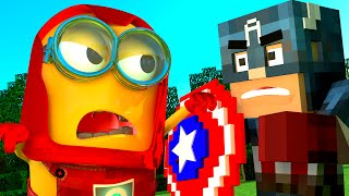 Video Captain America: Civil War (2016)  Versus Minions IN MINECRAFT download in MP3, 3GP, MP4, WEBM, AVI, FLV January 2017