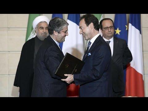 Ιράν- Γαλλία: οικονομική συμμαχία, συμφωνίες δισεκατομμυρίων στην επίσκεψη Ροχανί