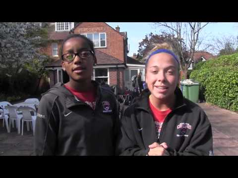 Lady Cougars Across the Pond - Unseen Footage