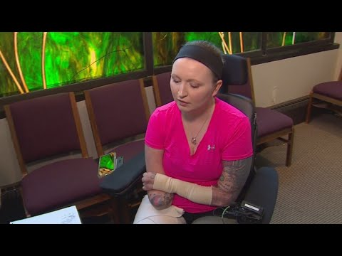 A survivor's story: After infection took her legs and her voice, she learned to sing again