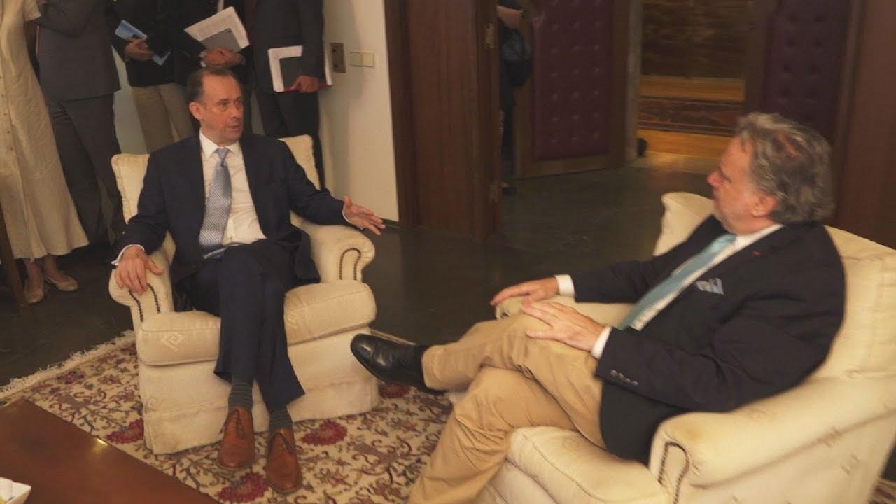 Συνάντηση Κατρούγκαλου με τον  Βρετανό υφυπουργό για το Brexit, λόρδο Μάρτιν Κάλαναν