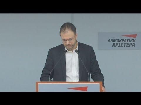 «Ναι» στην ψήφιση της Συμφωνίας των Πρεσπών, εισηγήθηκε ο Θανάσης Θεοχαρόπουλος