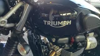 4. The New 2018 Triumph Street Scrambler