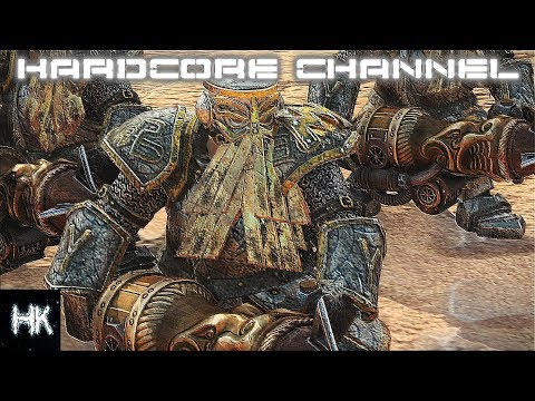 Total War Warhammer 2 - прохождение Hardcore Империи Смертных - Гномы =24= Крысиный король