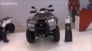 7. The 2018 KYMCO MXU 700i ATV