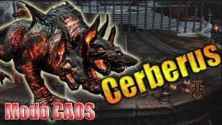 Cerberus en modo CAOS (Chaos) // Como derrotar a cerberus GOW3 (muerte de cerberus)