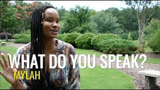 Mylah - Just Do It...what Do You Speak (When We Speak TV)