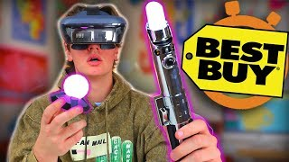 Video Crazy Star Wars VR - Best Buy 5 Minute Speed Shopping MP3, 3GP, MP4, WEBM, AVI, FLV Oktober 2018