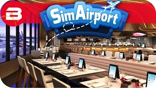 SIM AIRPORT Gameplay - FEEDING TIME! Lets Play SIMAIRPORT Alpha #7