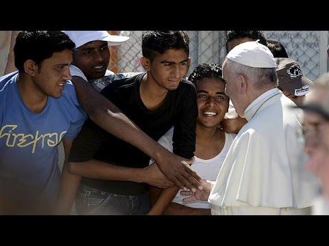 Λέσβος: Μηνύματα ανθρωπιάς και αλληλεγγύης από τους ηγέτες του Χριστιανισμού