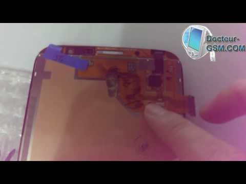 comment reparer lcd samsung