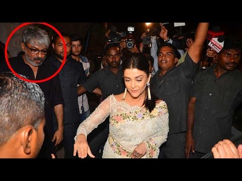 Video Aishwarya Rai Bachchan meets SLB on the sets of Padmavati download in MP3, 3GP, MP4, WEBM, AVI, FLV January 2017