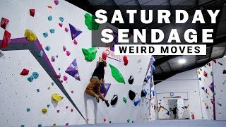 Saturday Sendage: Breaking Beta on the Red V8+ Circuit!!! - HarroWall Ep.3 by Verticalife