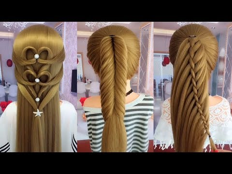 Short hair styles - TOP 20 Amazing Hair Transformations  Beautiful Hairstyles Compilation 2019  Part 20