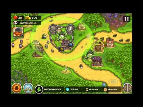 Kingdom Rush Frontiers - Lost Jungle 3 Stars E9 (видео)