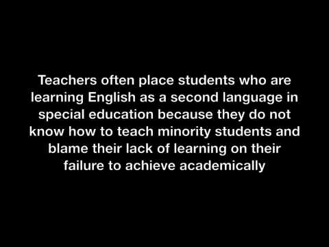 Race and Inequality in Special Education