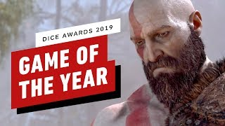 God of War Wins Game of the Year at the DICE Awards 2019 by IGN