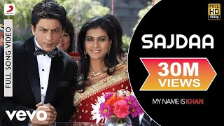 Video Sajdaa Full Video - My Name is Khan|Shahrukh Khan|Kajol|Rahat Fateh Ali|Richa Sharma download in MP3, 3GP, MP4, WEBM, AVI, FLV January 2017