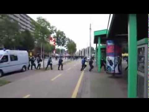 Malorny88 - FC Basel vs. Schalke 04 0:1 Hooligans.