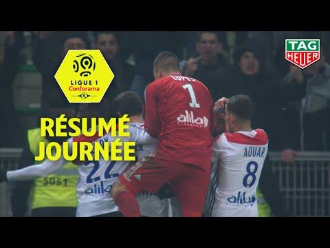 Résumé 21ème journée - Ligue 1 Conforama / 2018-19