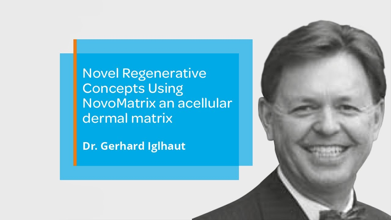 BioHorizons Camlog webinar — Novel Regenerative Concepts Using NovoMatrix an acellular dermal matrix