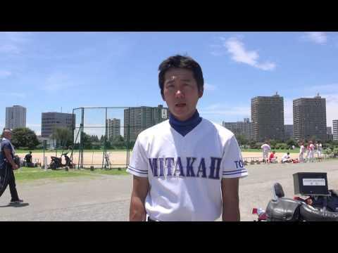 東京都 中学生野球チーム 三鷹市立第二中学校 青柳監督