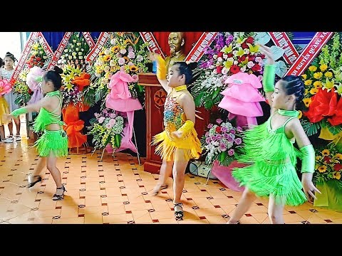 Nhạc thiếu nhi Remix -  Nhảy Dancesport  - Bông Hồng Tặng Cô - Thời lượng: 4 phút, 49 giây.