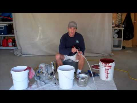 paint sprayer how to - John Burbidge, author of the book