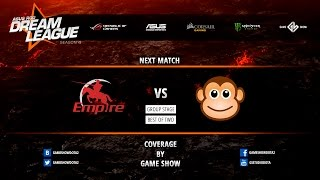 Empire vs mBusiness, game 1